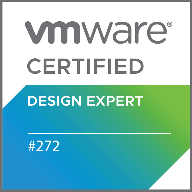 VMware Certified Design Expert 6 – Data Center Virtualization